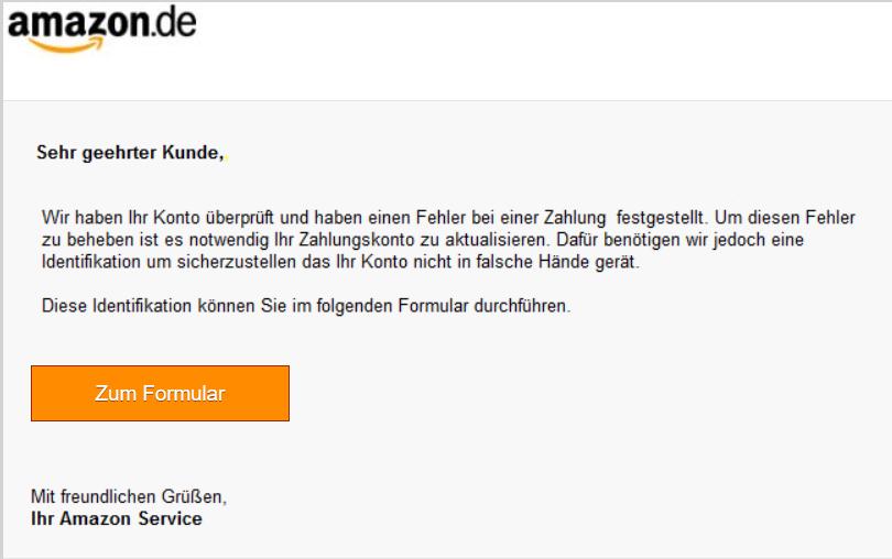 Amazon Phishing